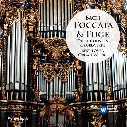 Bach: toccata & fuge die schÖnsten orgelwerke / best-loved organ works - jacob (płyta cd) marki Warner music