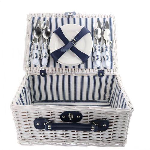 TORO Kosz piknikowy 40x28x18 cm, biały (8712442130567)