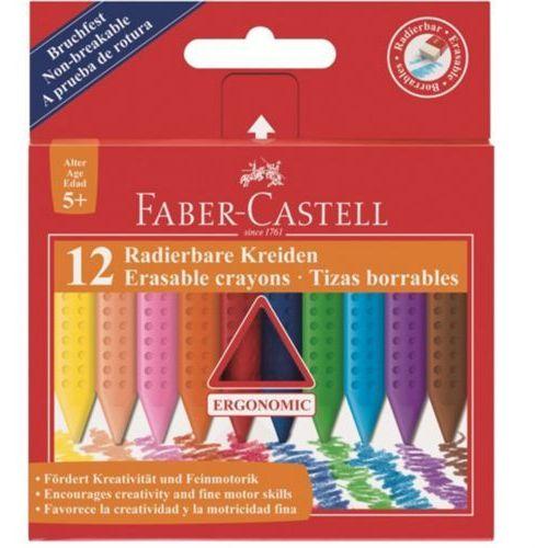 Kredki FABER CASTELL świecowe Grip op.12