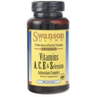 Swanson Witaminy A, C, E i Selen (ACES) - 60 kapsułek
