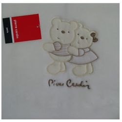 Pierre cardin Kocyk dziecięcy bear brąz 80x110