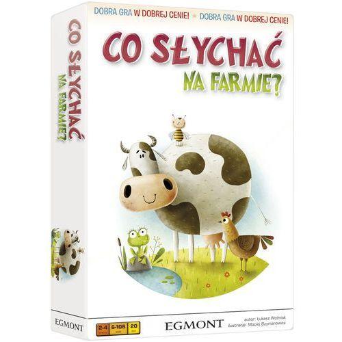 Co słychać na farmie? gra planszowa marki Egmont