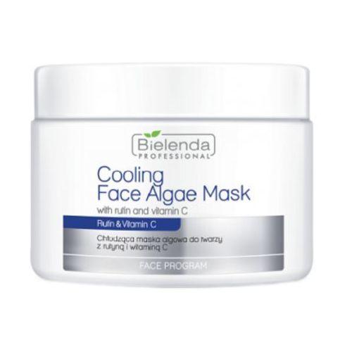Bielenda Professional COOLING FACE ALGAE MASK WITH RUTIN AND VITAMIN C Chłodząca maska algowa z rutyną i witaminą C
