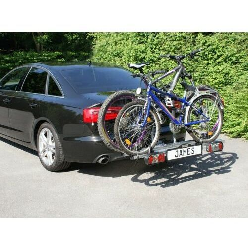 Bagażnik na rowery platforma na hak EUFAB JAMES na 2+1 rowery, 21039625