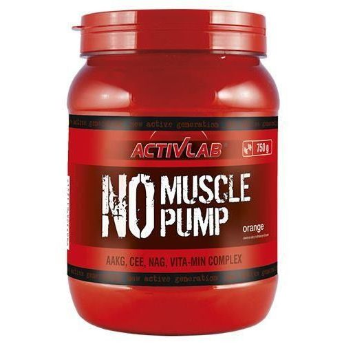Activlab no muscle pump - 750g - grapefruit