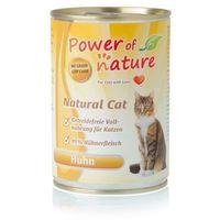 natural cat kurczak karma dla kotów w puszce 400g marki Power of nature