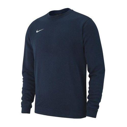 Nike Bluza męska team club 19 fleece aj1466-451 - granatowy