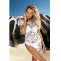 Sukienka plażowa Etna D-12 biała