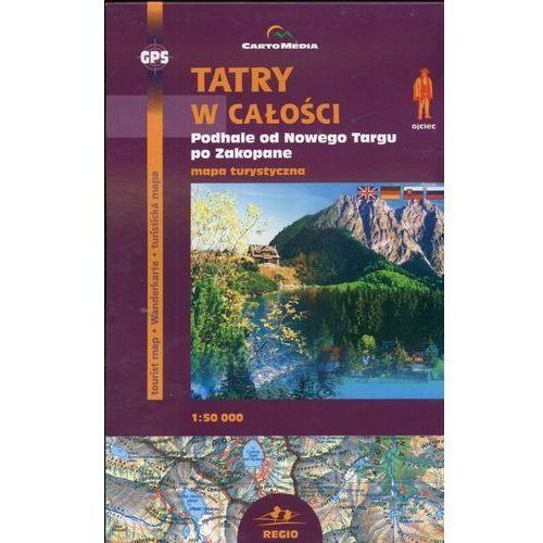 Tatry w całości Mapa turystyczna 1:50 000 (2006)