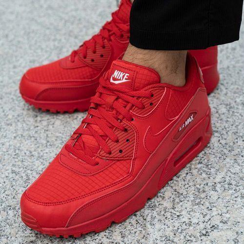 Buty sportowe męskie Nike Air Max 90 Essential (AJ1285-602), kolor czerwony