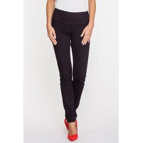 Czarne jeansy z wysokim stanem DIANA, kolor czarny