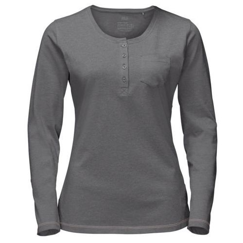 Jack wolfskin Koszulka essential longsleeve women - tarmac grey