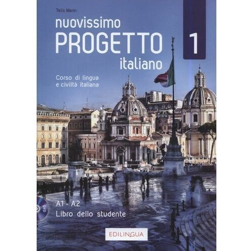 Progetto italiano Nuovissimo 1 podr.+ CD A1-A2, Edilingua