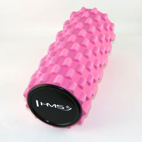 Hms fs101 - 17-8-252 - wałek fitness 33 cm - różowy