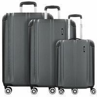 Travelite City 3-częściowy komplet walizek na 4 kółkach anthrazit ZAPISZ SIĘ DO NASZEGO NEWSLETTERA, A OTRZYMASZ VOUCHER Z 15% ZNIŻKĄ