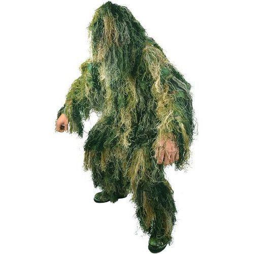 Mil-Tec Strój Maskujący Maskowanie Ghillie Suit Woodland - Woodland (4046872273018)