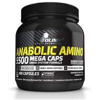 OLIMP Anabolic Amino 5500 Mega Caps - 400 kaps. - 400 kaps. (5901330024153)
