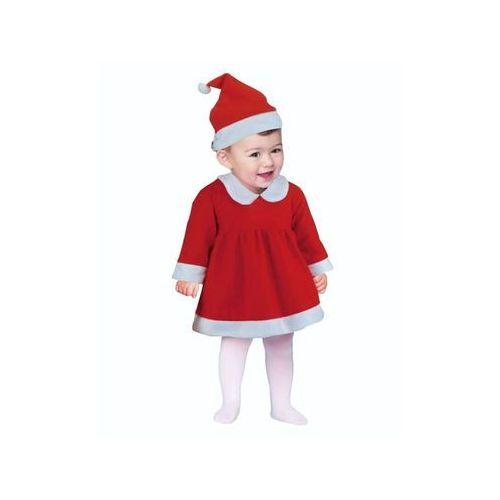 """Strój """"Mała Mikołajka"""", Śnieżynka dla dzieci 6-12 miesięcy (5901238663065)"""