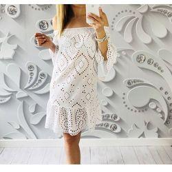 sukienka INA BOHO biała