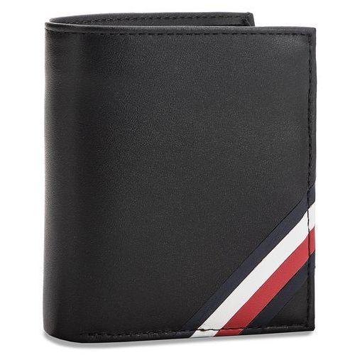 6e11ea7c016b2 Mały portfel męski - corp edge ns trifold am0am03658 002 marki Tommy  hilfiger