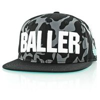czapka z daszkiem K1X - Core Baller Black Camo/White (0109)