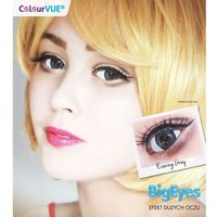 Colourvue big eyes kolor(soczewki kwartalne) + płyn 360ml marki Maxvue vision