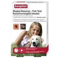 Tick test zbadaj kleszcza, 1 test na obecność borrelia w ciele kleszcza marki Beaphar