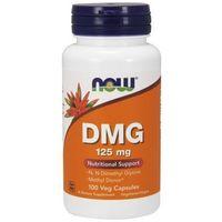 Kapsułki Now Foods DMG (kwas pangamowy, witamina B15) 125mg 100 kaps.