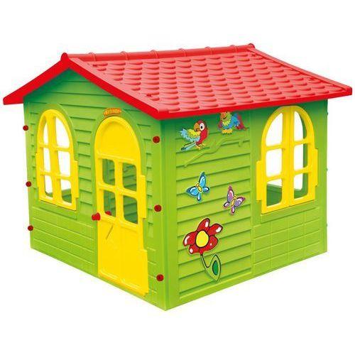 Mochtoys domek ogrodowy, czerwony dach (5907442104257)