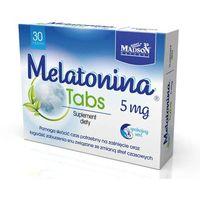 Tabletki MELATONINA Tabs 5mg x 30 tabletek