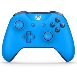 Kontroler xbox one niebieski + zamów z dostawą jutro! marki Microsoft