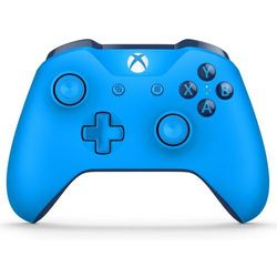 Kontroler xbox one niebieski marki Microsoft