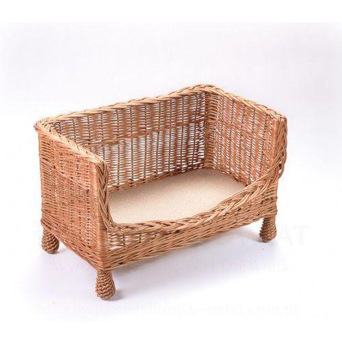 Wiklinowa sofa dla zwierząt, ławka, kanapa dla kota, psa