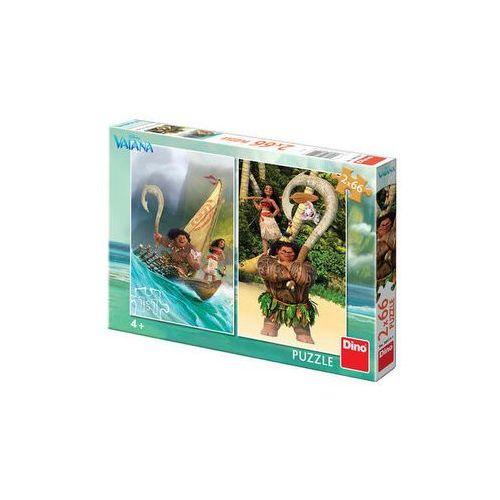 Vaiana - puzzle 2x66 dílků The Walt Disney Company