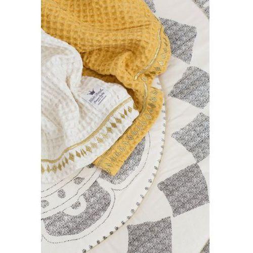 Elodie Details - kocyk bawełniany Vanilla White