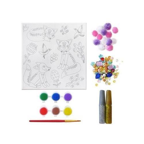 Incood. Zestaw kreatywny do malowania lisy (5902921980988)