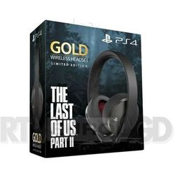 Sony playstation wireless headset gold limited edition the last of us part ii
