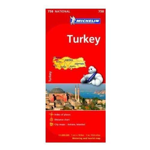 Turkey m./Michelin/1:1000000 lam