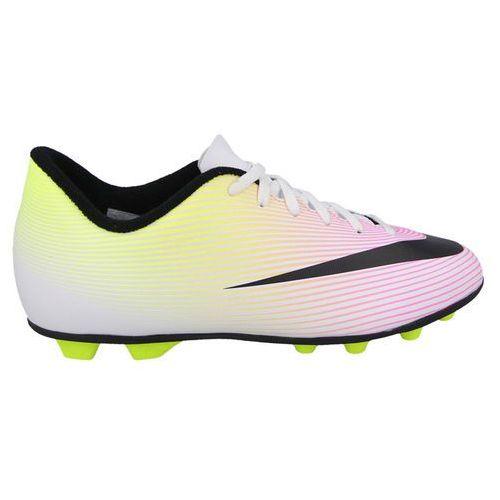na stopach o jakość wykonania najnowsza kolekcja Nike Korki mercurial vortex jr 651642 107 - perłowy ...