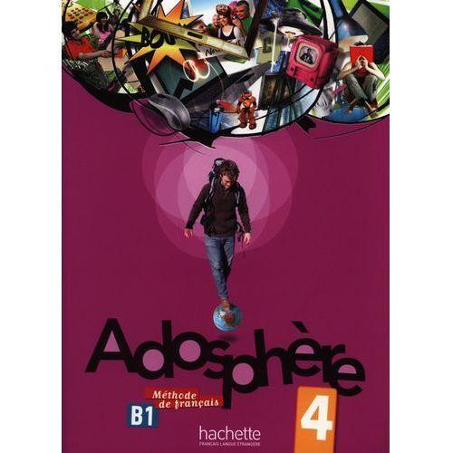 Adosphere 4 methode de francais + Cd audio (2013)