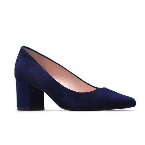 69b0723d Czółenka Gina Piacci 2270-A33 Granatowe, kolor niebieski (Eksbut ...