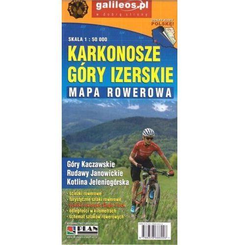 Mapa rowerowa - karkonosze i góry izerskie 1:50000 - praca zbiorowa (2 str.)