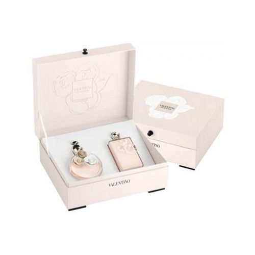 Valentino valentina, zestaw podarunkowy, woda perfumowana 80ml + mleczko do ciała 200ml