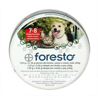 foresto obroża przeciw pchłom i kleszczom dla psów i kotów 38cm promocja marki Bayer