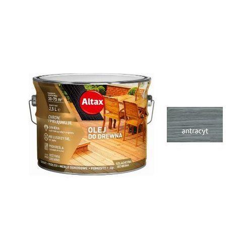 ALTAX- olej do drewna, antracyt, 2.5 l
