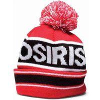 czapka zimowa OSIRIS - Pom Pom Beanie Red/Blk (A132)