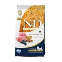 Nd low grain mini adult lamb blueberry 7kg natural & delicious n&d marki Farmina