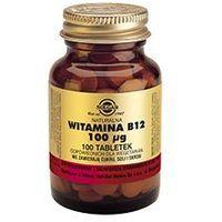 Tabletki SOLGAR Naturalna Witamina B12 100μg x 100 tabletek