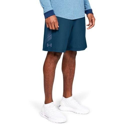 spodenki woven graphic short granatowe - granatowy marki Under armour