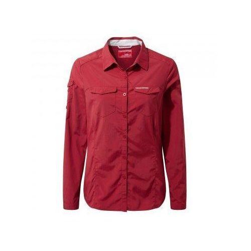 Czerwone wdzianko koszula damskie roz.44